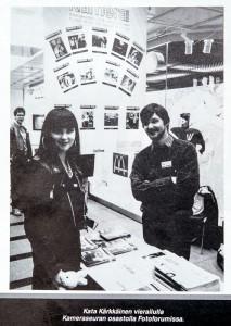 Kuvaaja Eddie Iles, Kameraseuran Uutisten  7/1989 kansikuva